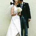 Brautkleid ueberlappend