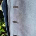 Anzugweste aus Seide