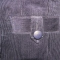 Stahlblauer Babykord von Carnet
