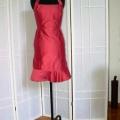 Kleid Neckholder rot