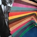 Eine breite Palette an feinstem Nappaleder in den schönsten Farben, aus Europa